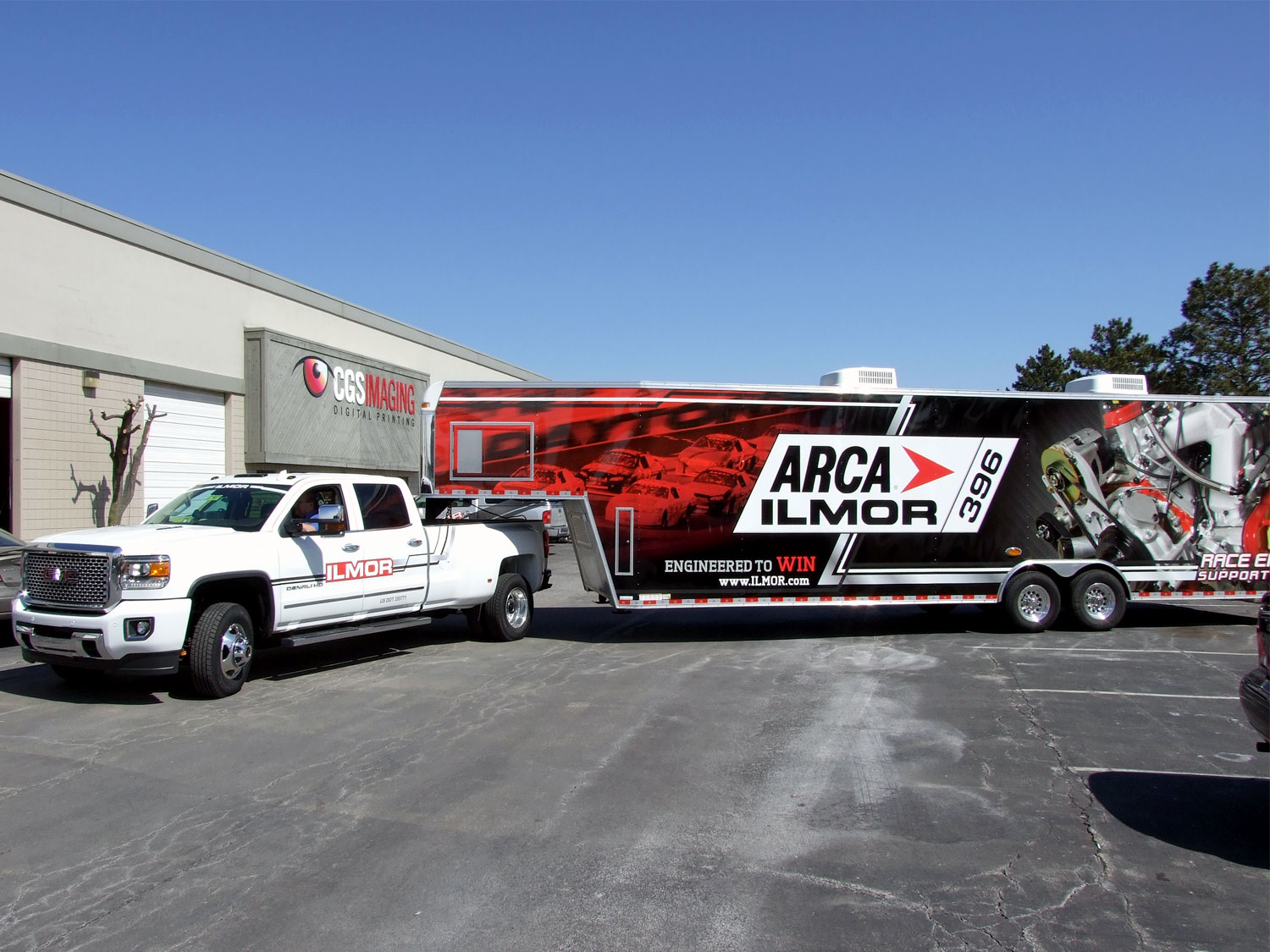 ARCA Ilmor 396 Truck and Trailer Graphics