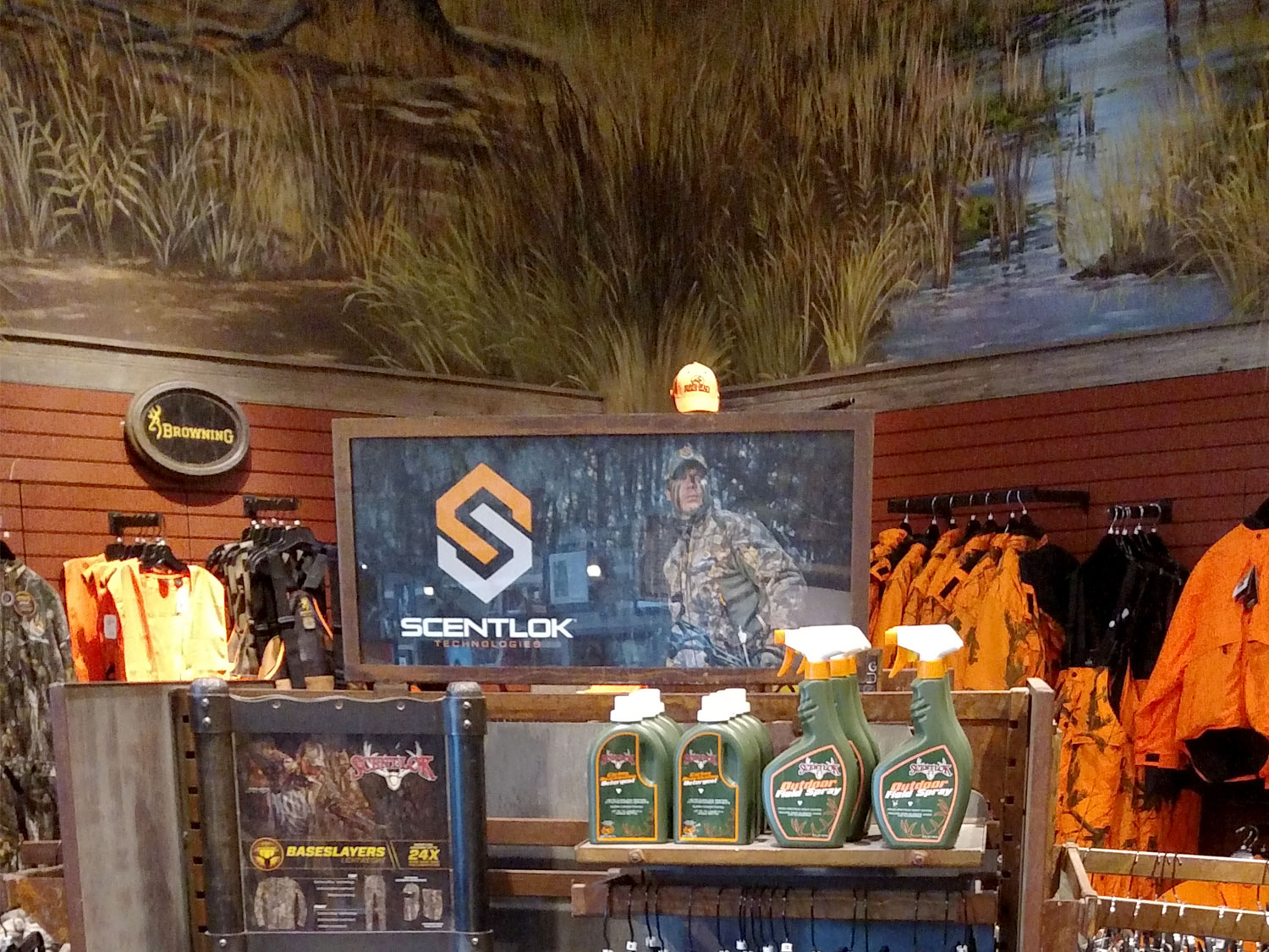 Bass Pro Shop Retail Display Graphics