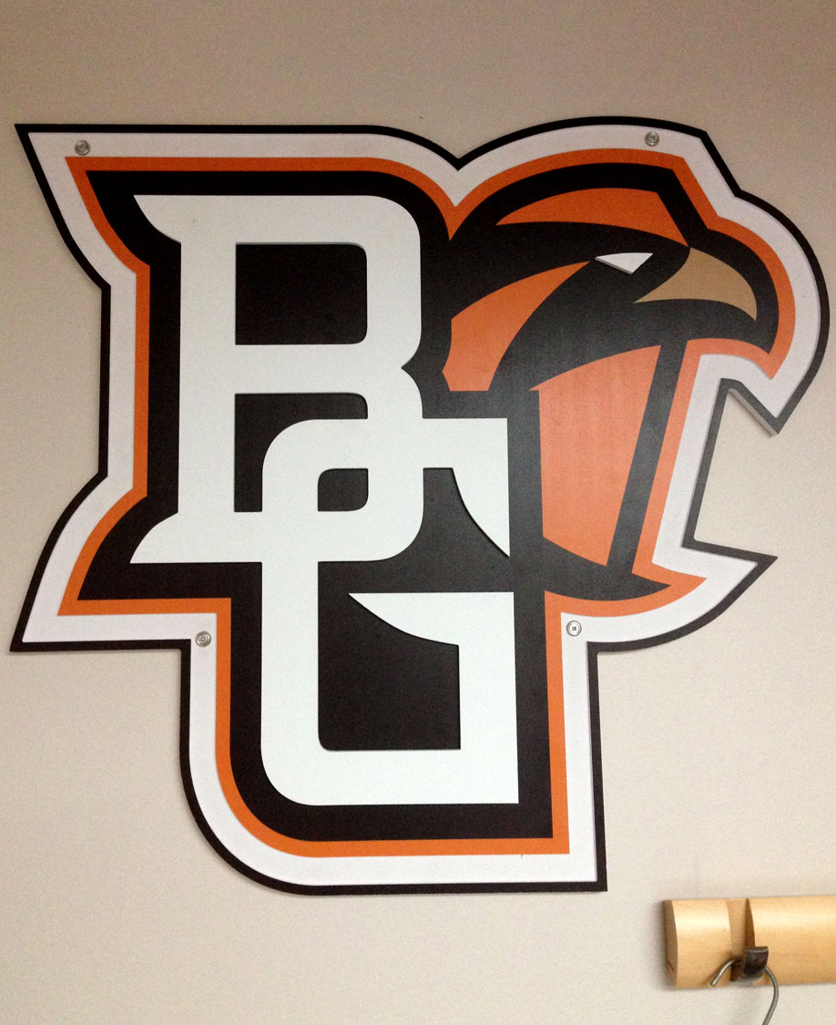Bowling Green State University Wall Graphic