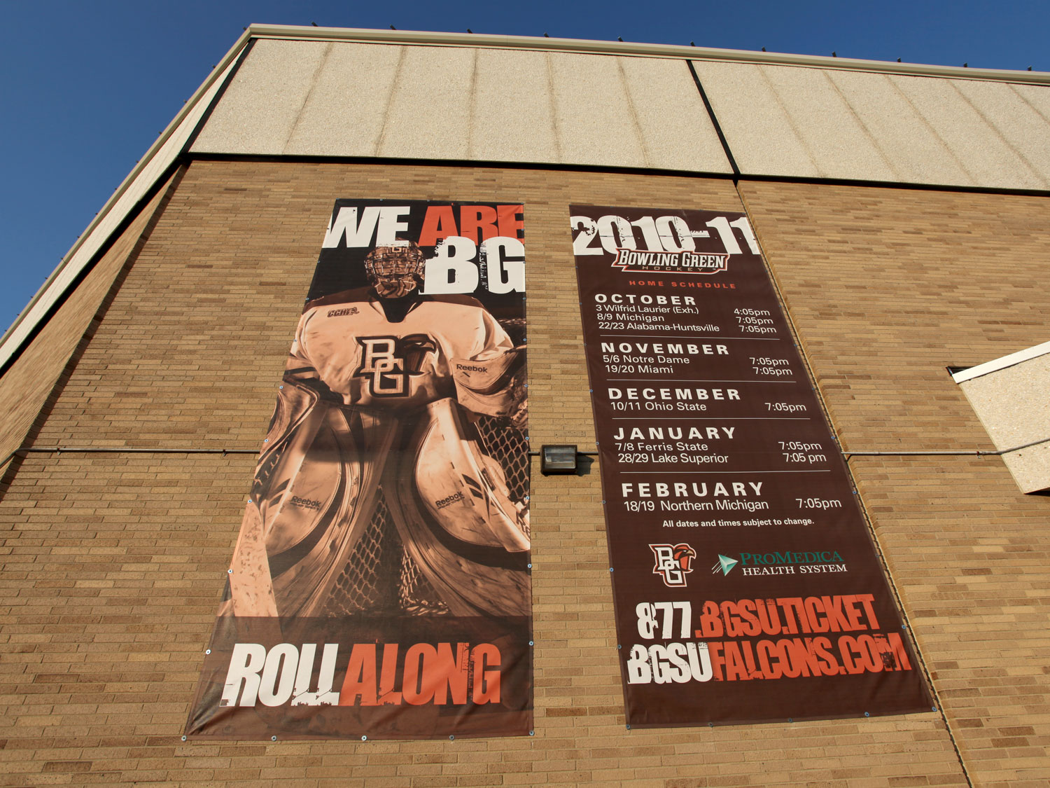 Bowling Green State University Building Banners