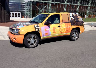 Bowling Green State University Campus Vehicle Wrap