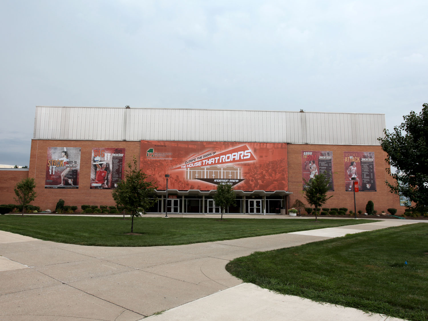Bowling Green State University Arena Building Banners
