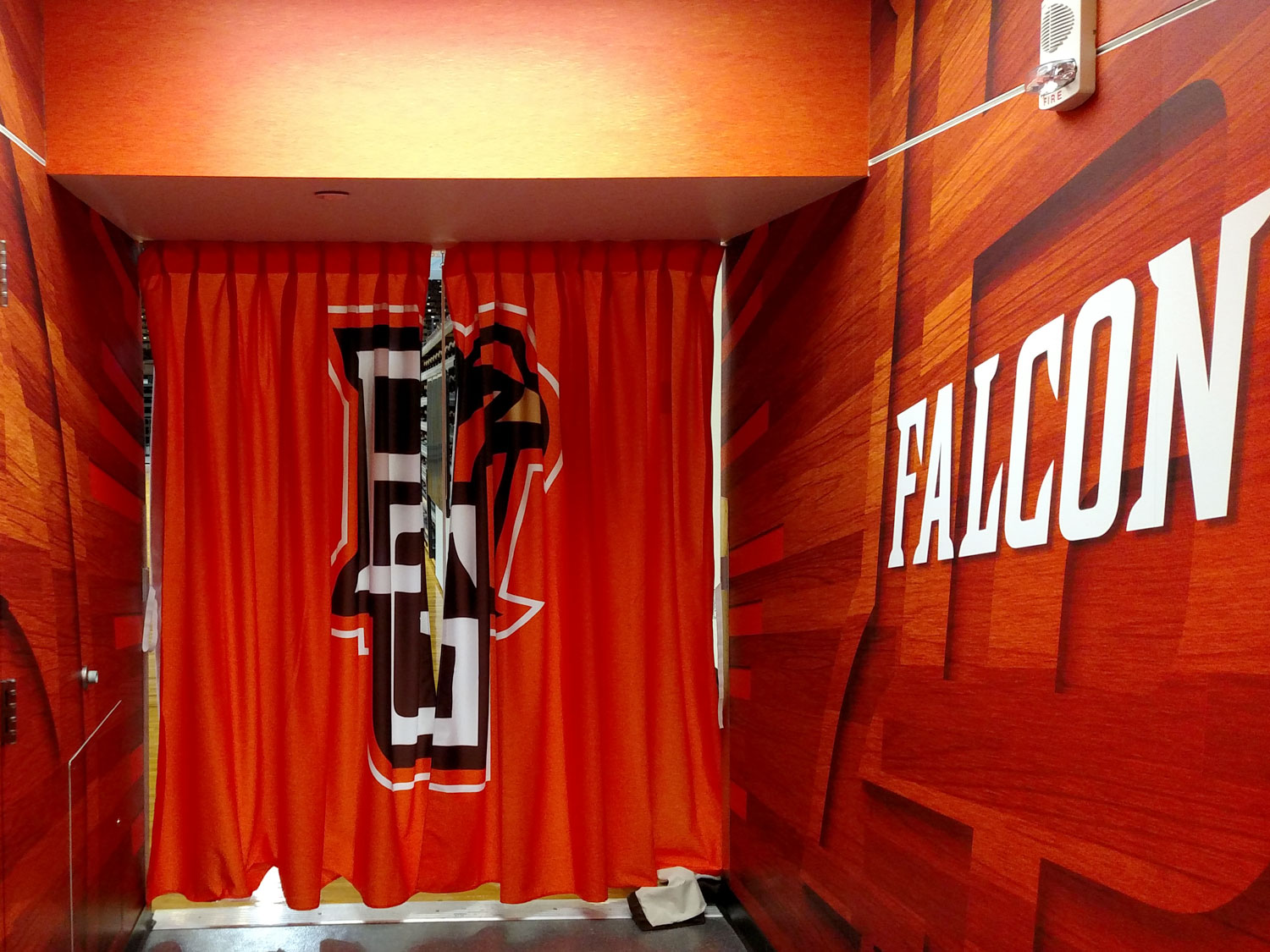 Bowling Green State University Arena Graphics