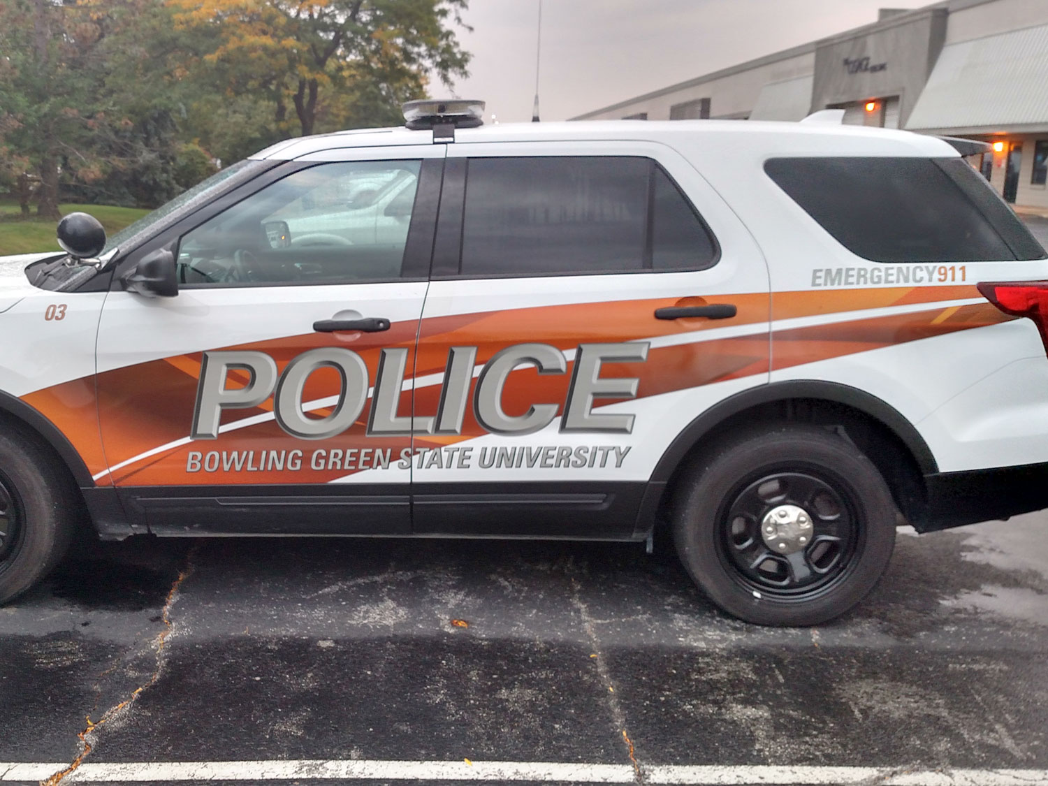 Bowling Green State University Campus Police Graphics