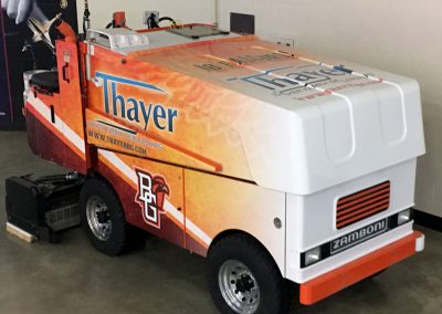 Bowling Green State University Zamboni Graphics