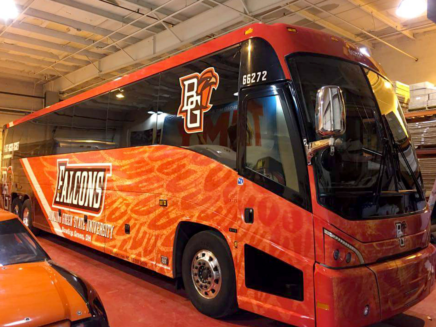 Bowling Green State University Shuttle Graphics