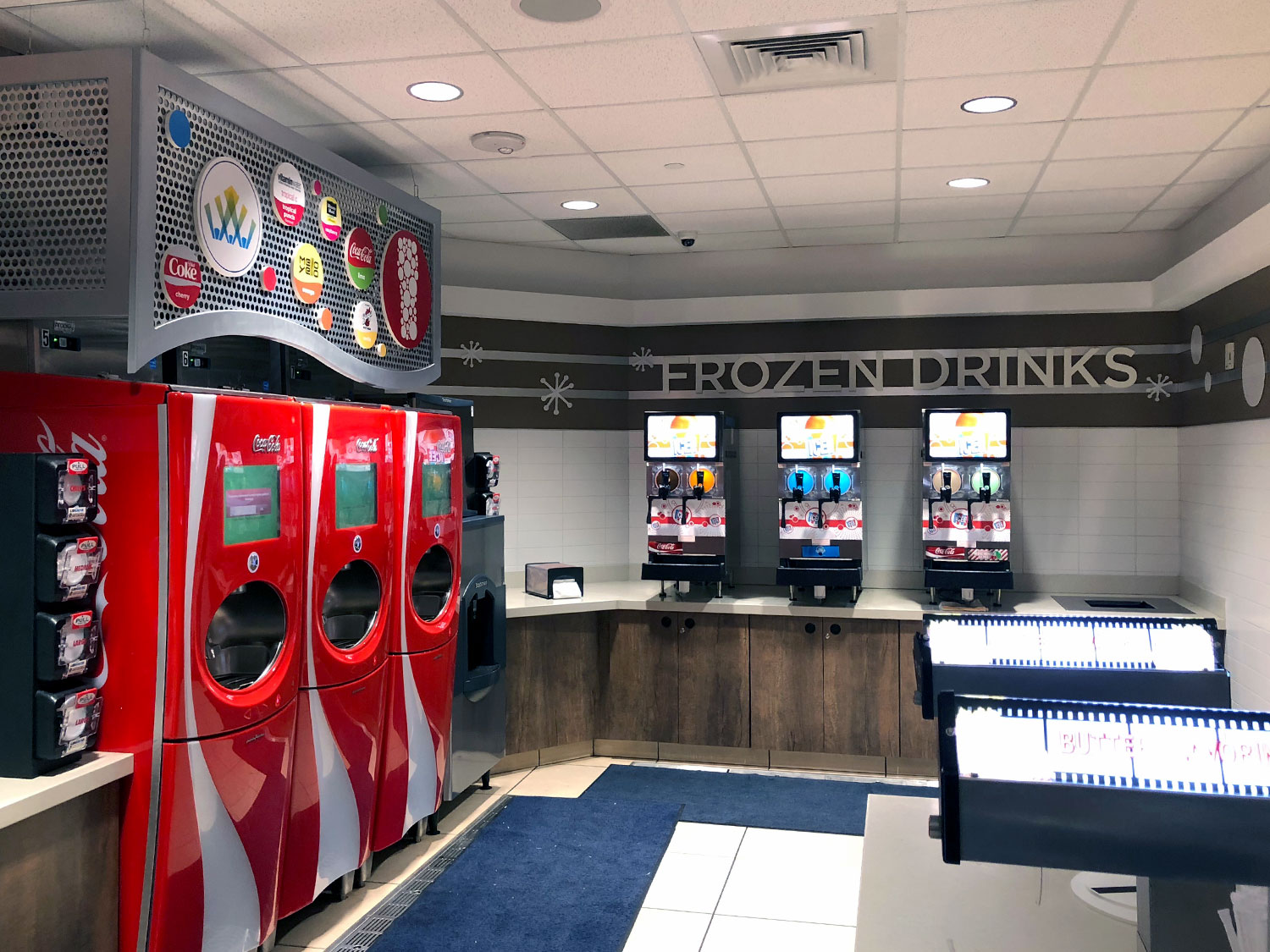 Coca Cola Beverage Station
