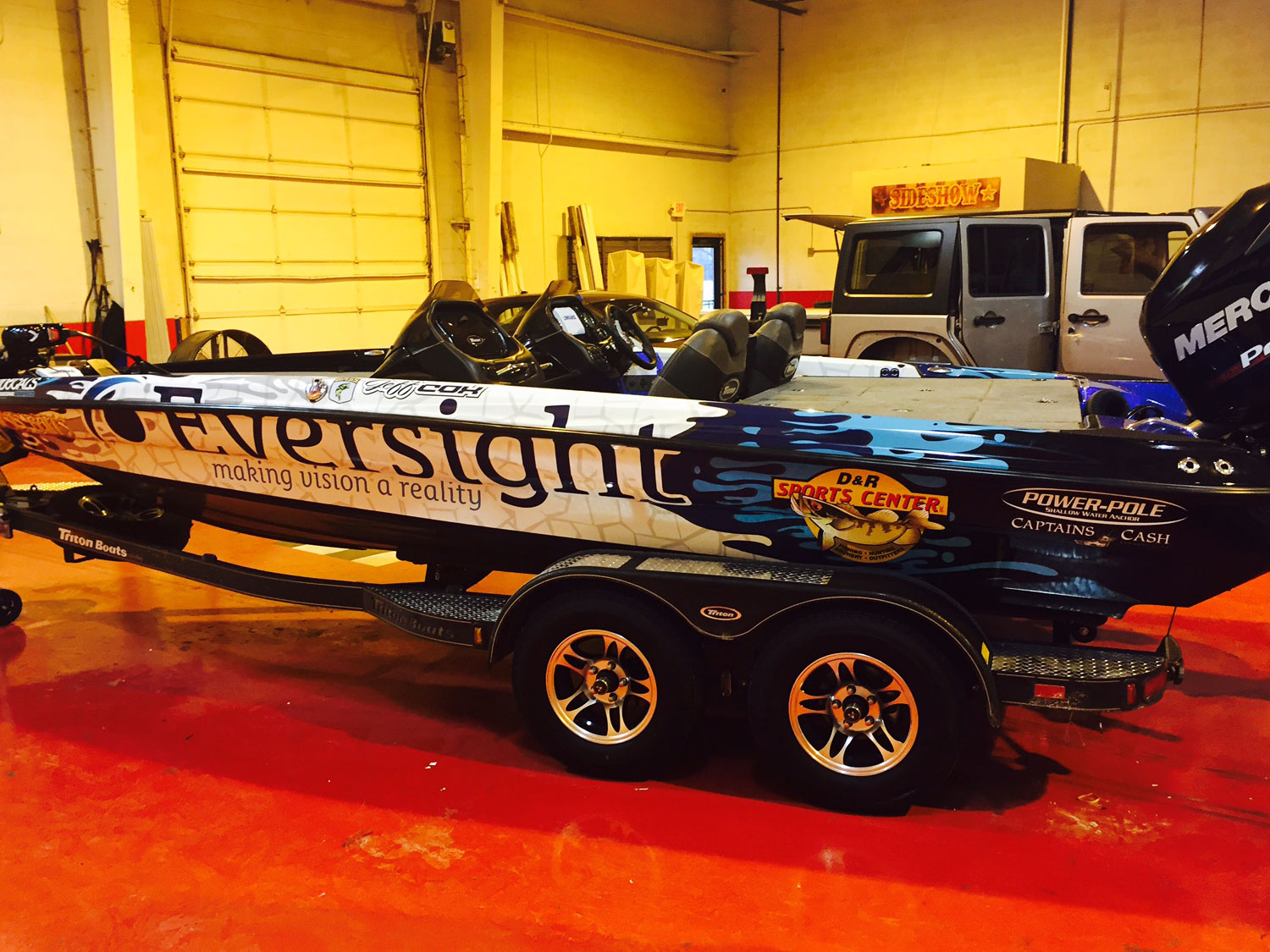 Eversight Boat Graphics