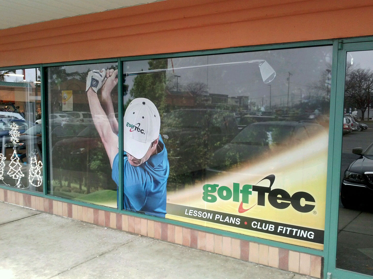 Golf Tee Window Graphics