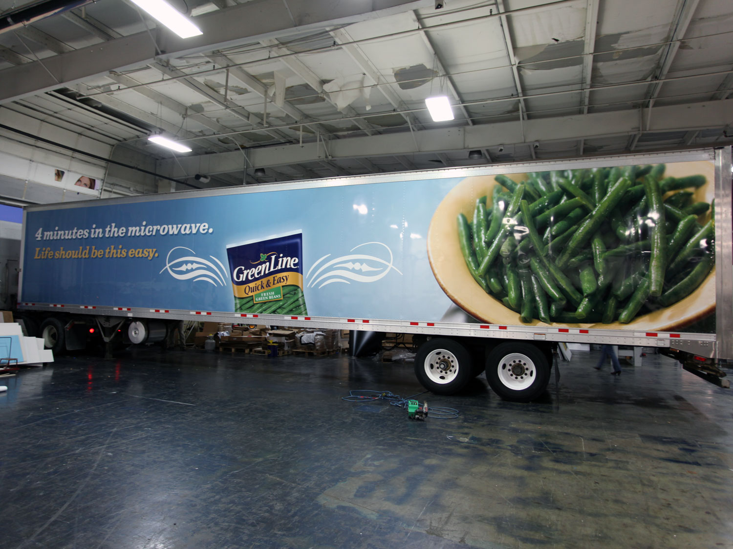 Greenline Trailer Wrap Graphics