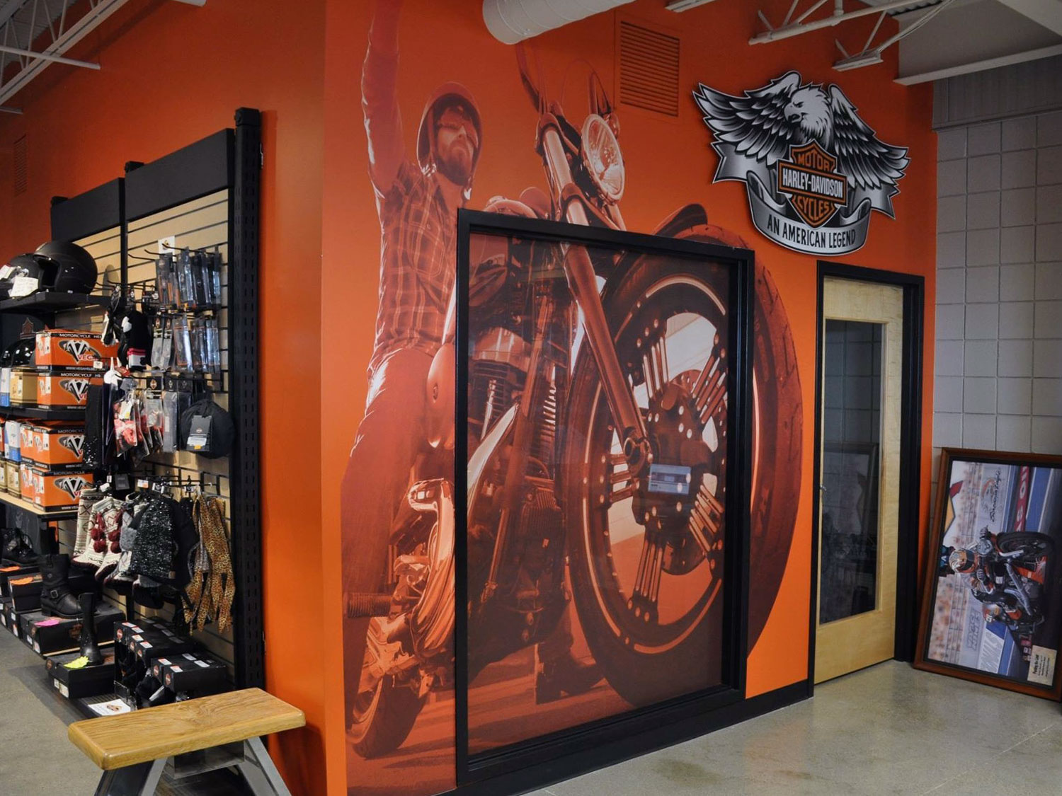 Harley Davidson Wall Graphics