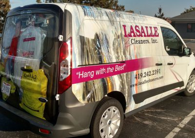Lasalle Cleaners Inc. Van Graphics