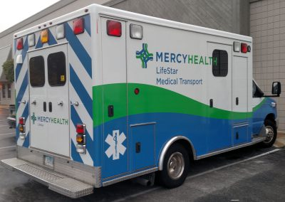 Mercy Health Ambulance Graphics