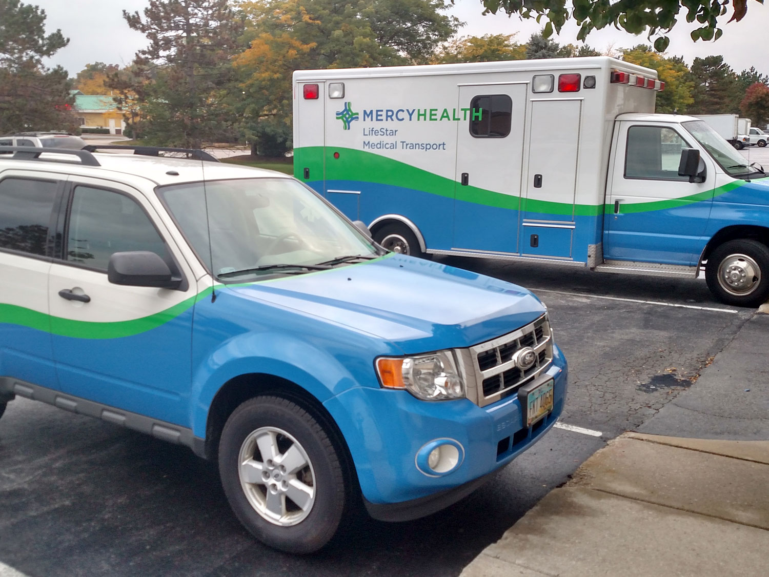 Mercy Health Ambulance and Vehicle Graphics