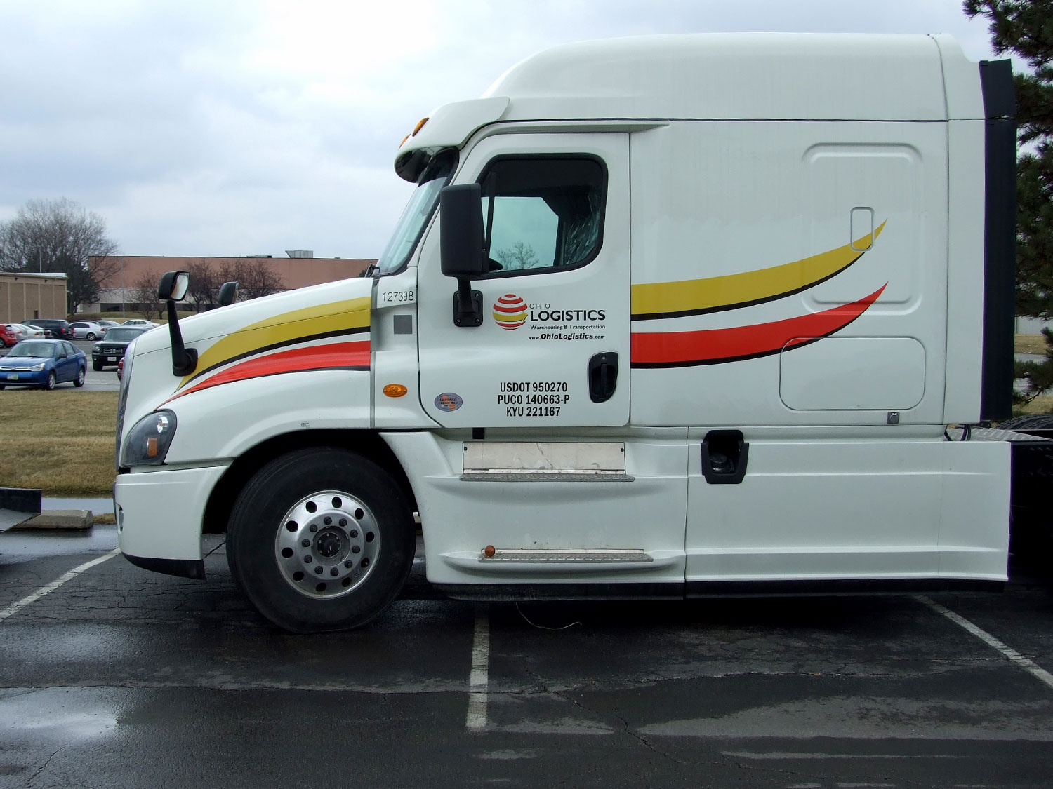 Ohio Logistics Truck Graphics