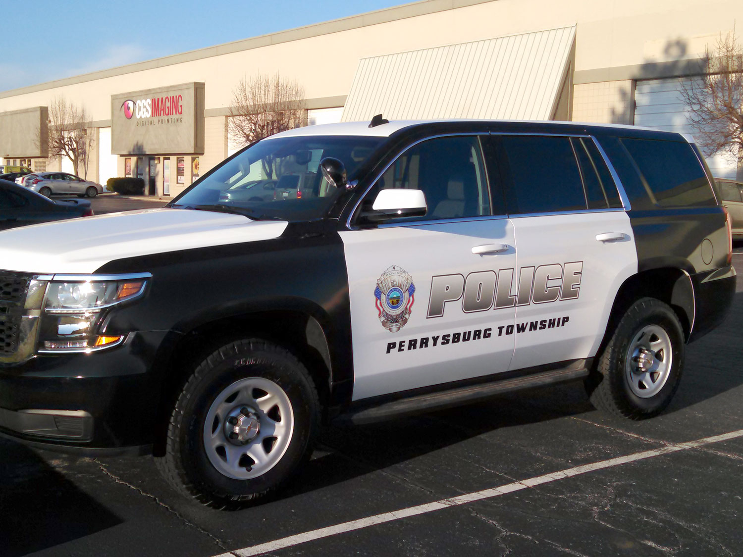 Perrysburg Township Police Vehicle Graphics