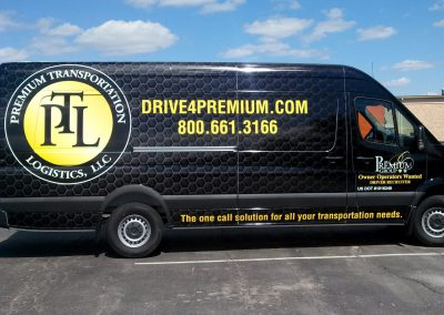 Premium Transportation Van Graphics