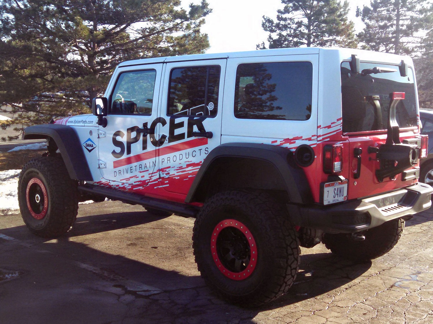 Spicer Parts Vehicle Graphics