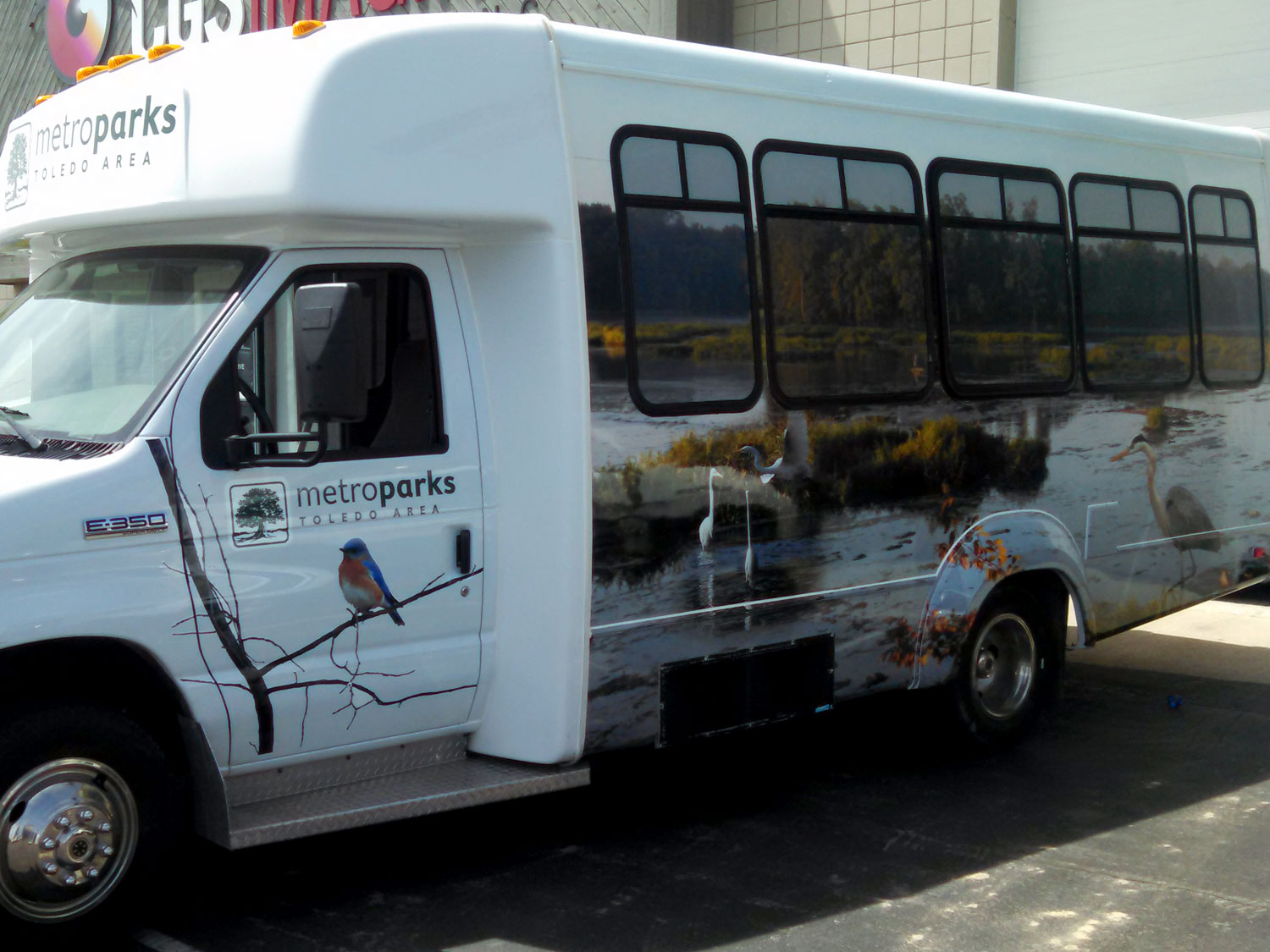 Toledo Metroparks Bus Graphics