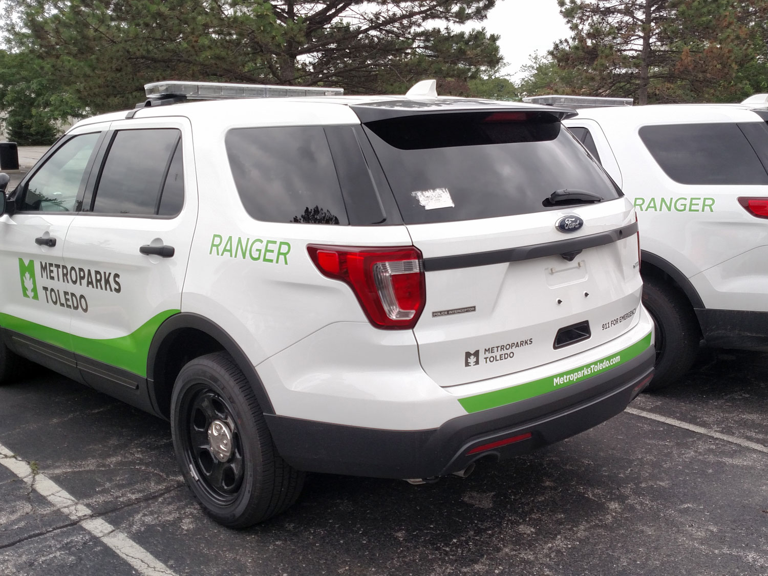 Toledo Metroparks Park Ranger Vehicle Graphics