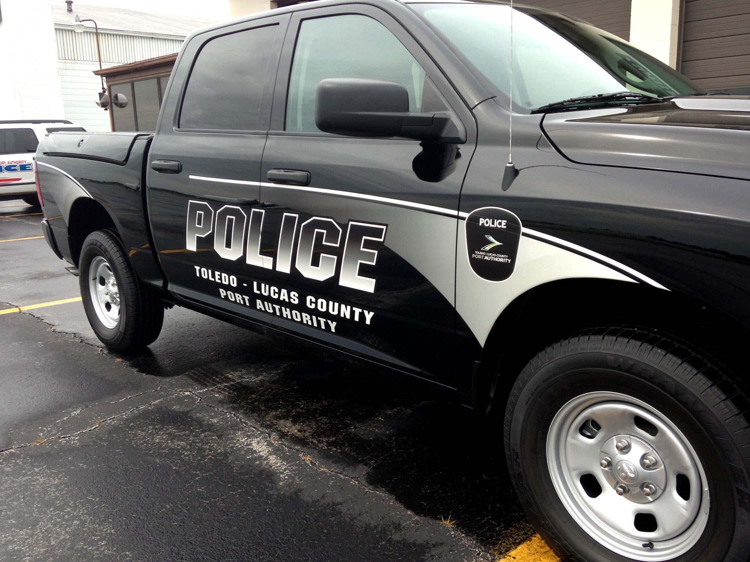 Toledo Lucas County Port Authority Police Vehicle Graphics