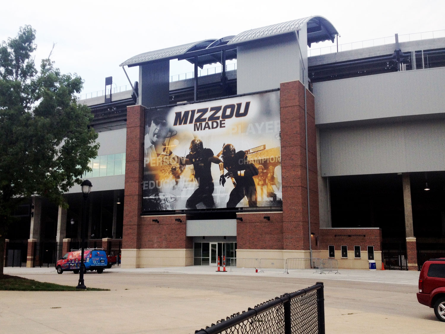 University of Missouri Building Banner