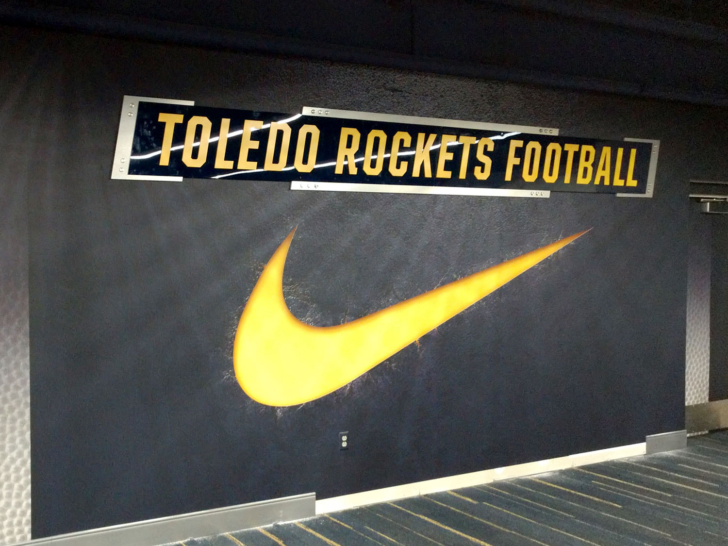 University of Toledo Wall Graphic and Signage