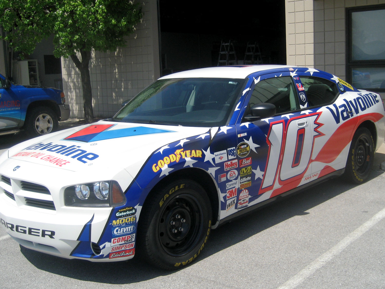 Valvoline Race Car Graphics