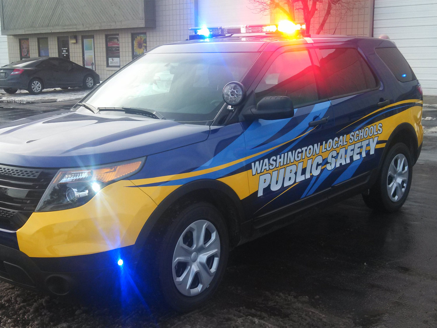Toledo Washington Local Schools Public Safety Vehicle Graphics