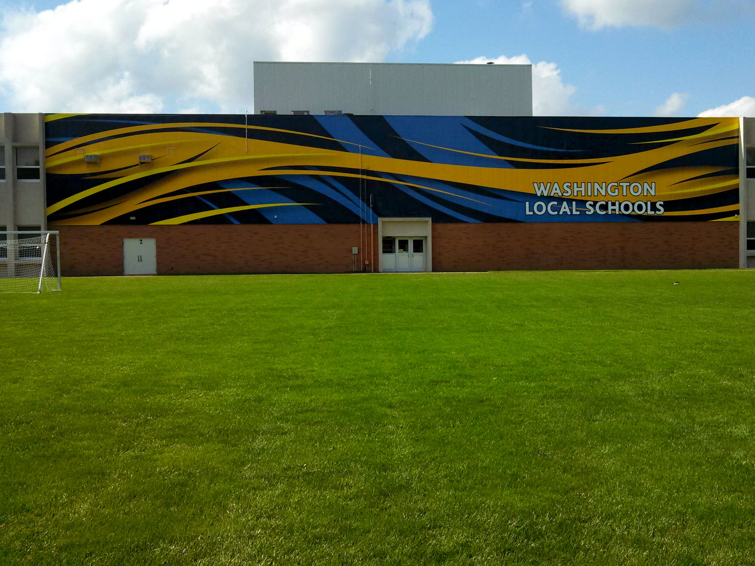 Toledo Whitmer High School Building Banner