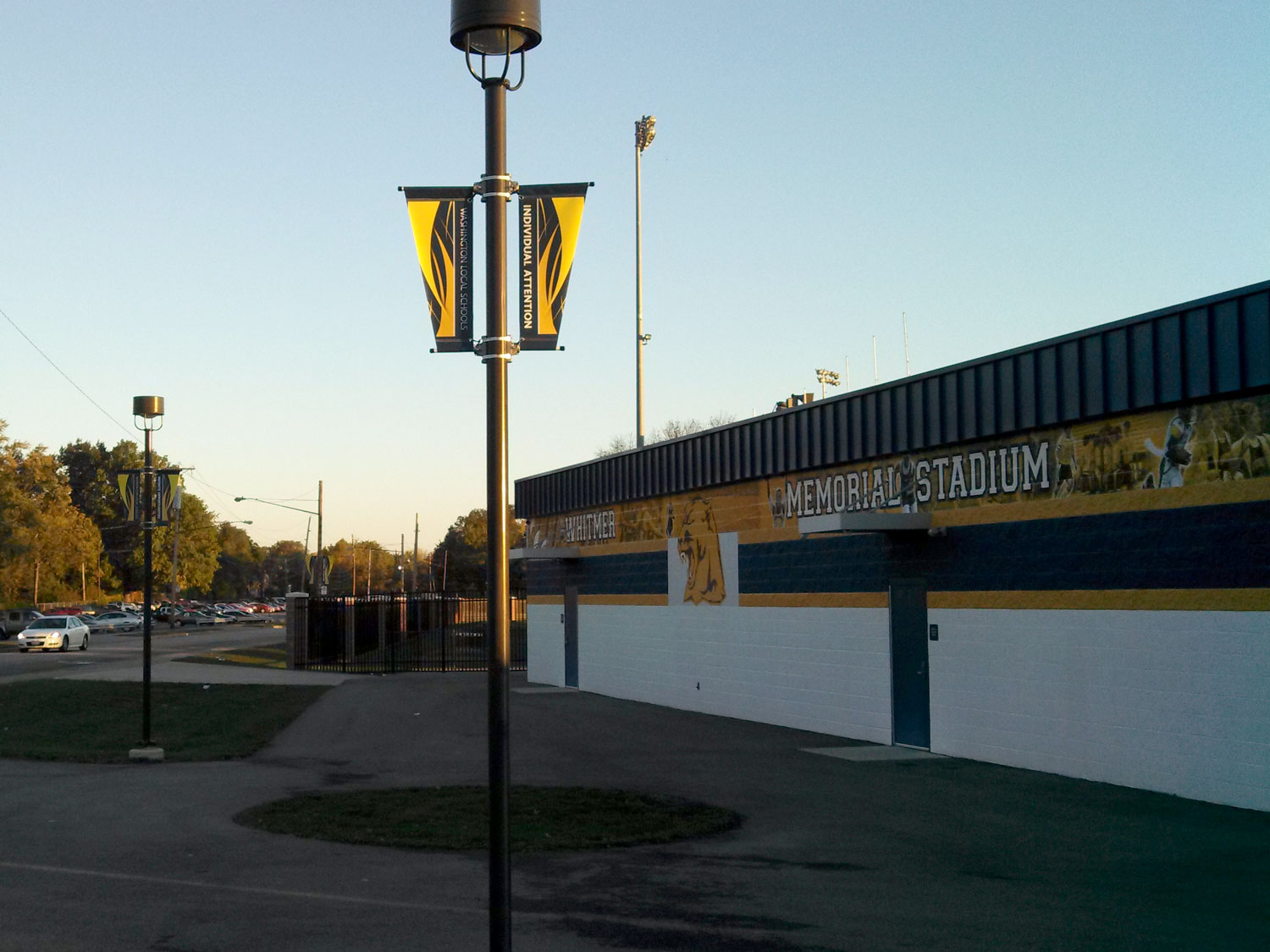 Toledo Whitmer High School Pole Banners
