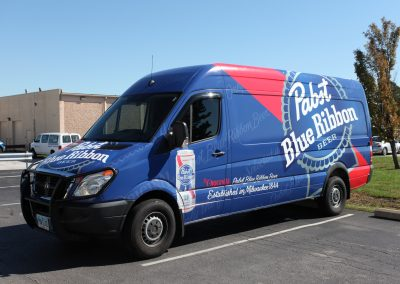 Pabst Blue Ribbon Wrap