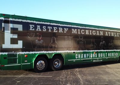 EMU Bus Wrap