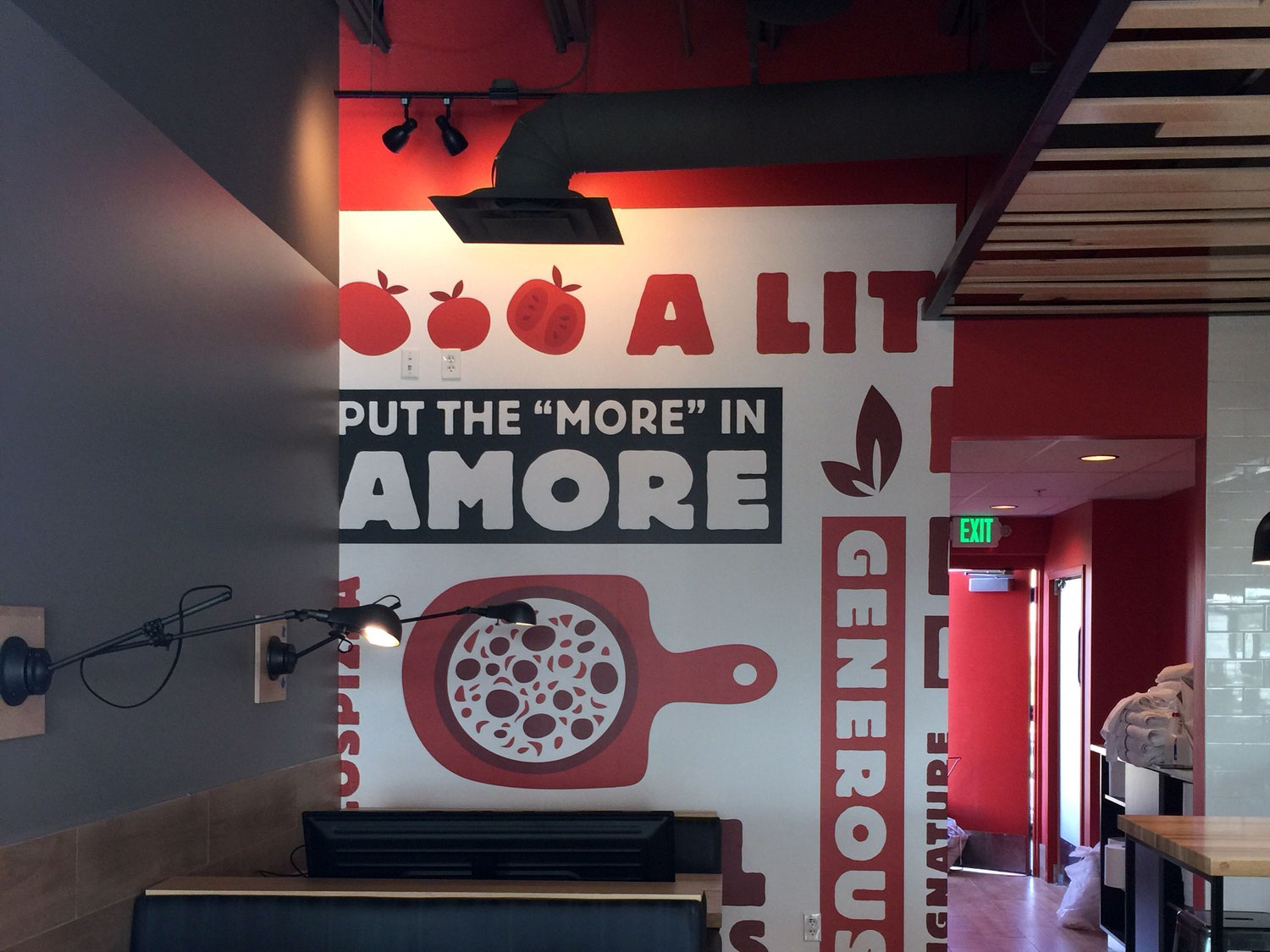 Marcos Pizza Wall Graphics