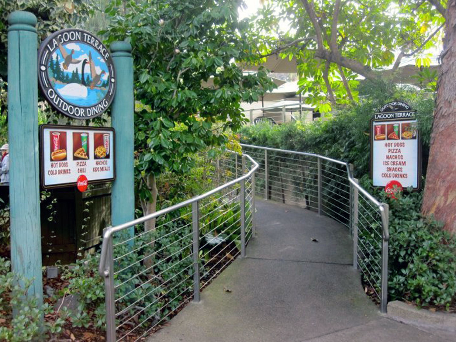San Diego Zoo Concession Signage