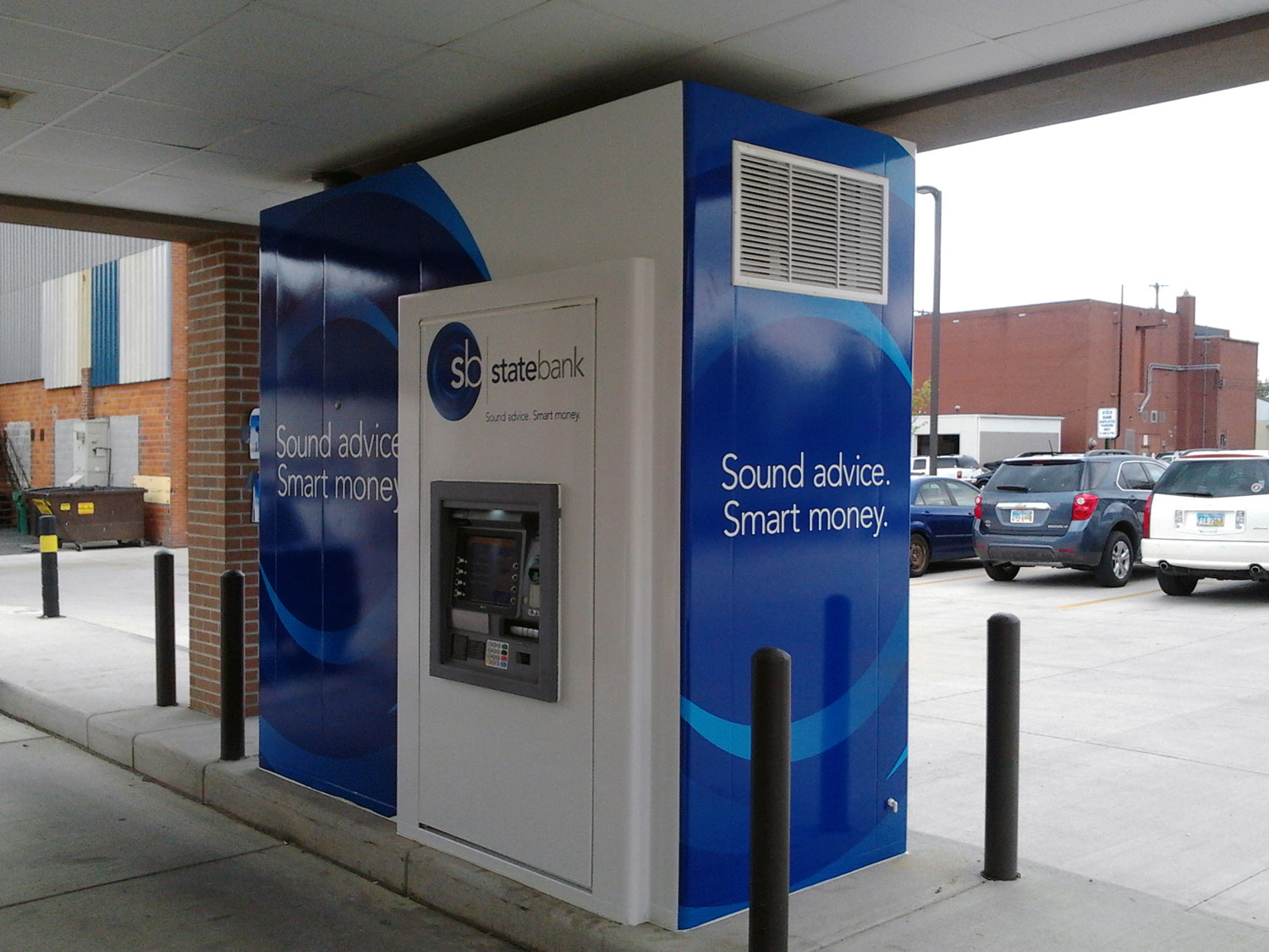 State Bank ATM Graphic Display Wrap